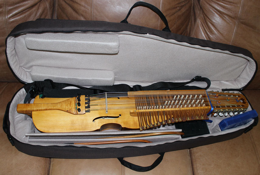 instrument in case